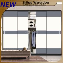 Современная деревянная гардеробная раздвижная дверь