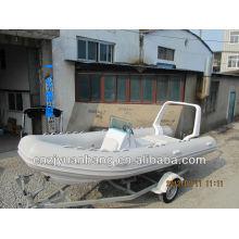 Лучшие стекловолокна рыбацкая лодка RIB 520
