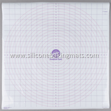 Professional Design for Pastry Heat Mat Fondant Roll And Measuring Pastry Mat export to Heard and Mc Donald Islands Supplier