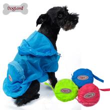 Doglemi pele desgaste cão pet capa de chuva resistente a UV cão camo jaqueta roupas