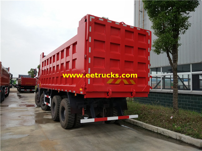 20T 12 Wheeler Dump Trucks