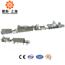 Double screw extruder corn flakes machine price
