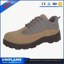Chaussures en acier de sécurité de chapeau d'orteil de marque, chaussures de travail des hommes Ufa102