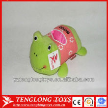 2013 fashion cute frog customized plush phone holder