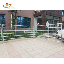 Galvanized Rail Fencing Horse Cattle Fence Panels