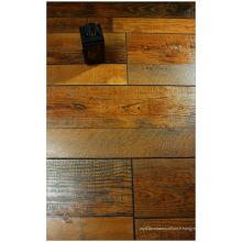 Plancher stratifié résistant à l'eau éraflé par érable gratté par main de 12.3mm