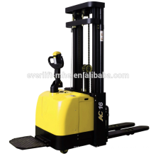 1.2ton 1.4ton 1.6ton 2.0ton Electric Stacker AC motor EPS high quality narrow legs straddle legs