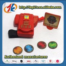 Shooter de disque d'article promotionnel avec le jouet de bande d'enfants de poignet