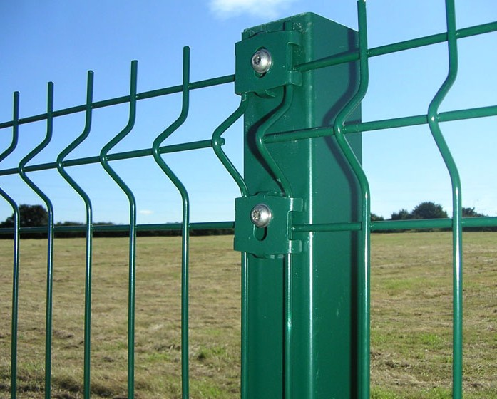 3 D metal fence panels