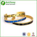 bracelet de mode 316l acier inoxydable indicateur de vitesse femmes