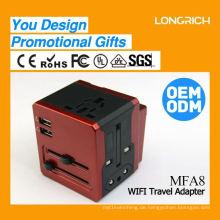 2015 Universal-Transformator für Handy-Ladegerät, wertvolle 8-Port-USB-Ladegerät