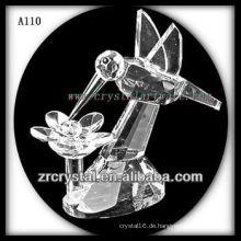 Schöne Kristall Tierfigur A110