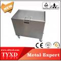 Tanque de limpieza de acero inoxidable de alta duración y larga duración