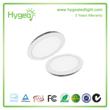 Panneau lumineux LED 6W-24W de haute qualité, lampe panneau LED ronde
