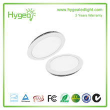 High quality 6W-24W LED light panel, Round Square LED panel light