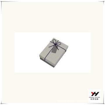 2016 en gros logo imprimé luxe recyclable carton carré boîte-cadeau