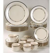 El pavo Paquistán diseñó la joyería fina real de la porcelana de la porcelana de la cena del grado de 60pcs 61pcs 72pcs AB al por mayor