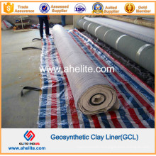 Doublure géosynthétique d'argile de bentonite pour le forage de puits de pétrole