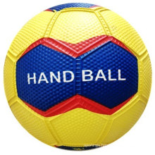 Yellow Color Official Size Hand Ball for Sporting