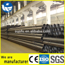 Bared/ painted welded Q345B steel pipe wholesaler in China