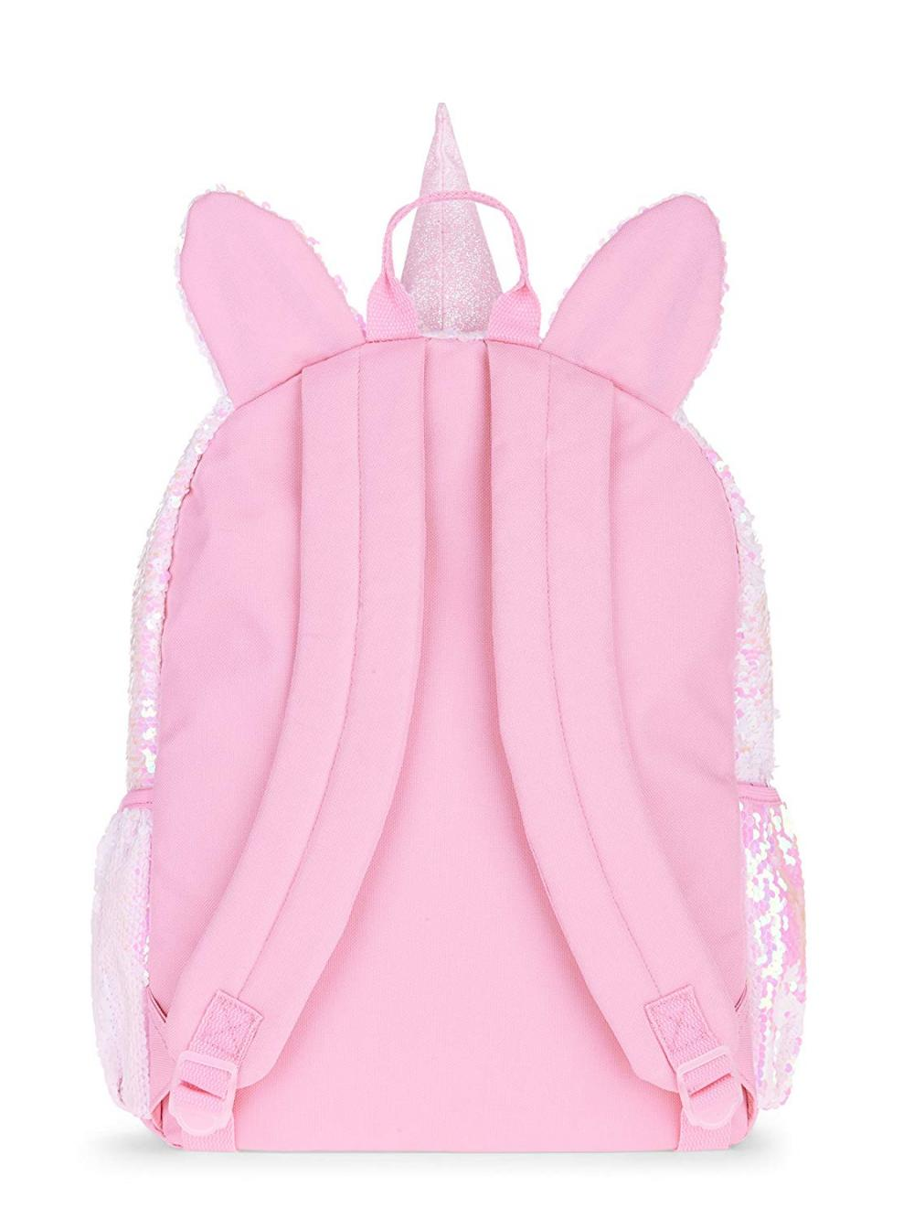 Unicorn Pink Sequin Backpack 1