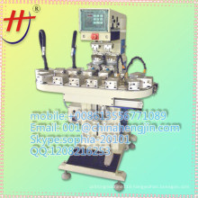 AT HP-160BZ Hot sales bottle cap pad printing machine with flame treatment