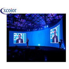 Gebogen Indoor LED Display Wall