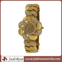 2015 Fashion Alloy Strap Women Wrist Watch Diamond Watch