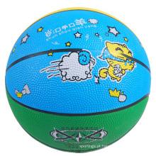 2017 hot tamanho do produto 7 6 5 4 3 2 promocional YONO basquete de borracha personalizar o seu próprio basquete crianças basquete