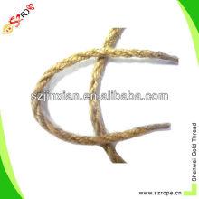 6mm twisted manila rope/sisal hemp rope