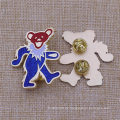 Benutzerdefinierte Metall Bär Form Glitter Emblem Insignia Revers Pin Glitter Abzeichen