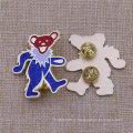 Изготовленный На Заказ Металл Медведь Форма Блеск Эмблема Эмблема Значок Pin Отворотом Блеск