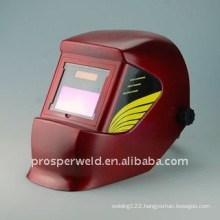 AUTO DARKENING WELDING HELMET WH4000 RED