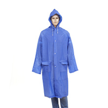 imperméable long en pvc réutilisable
