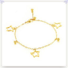 Fashion Jewellery Charm Jewelry Stainless Steel Anklets (CH006)