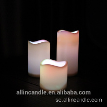 Gul Light Flameless Real Wax LED Pillar Candle