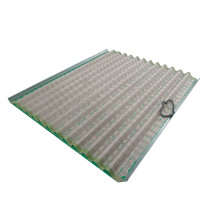 Replacement Corrugated Screens for Derrick 600  Shale Shaker