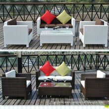 Aluminum rattan patio furniture set