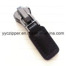 New Design Leather Puller Slider for Backpack