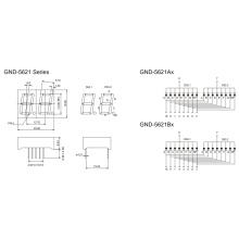 0.56inch 2 Digit 7 Segment Display (GNS-5621Ax-Bx)