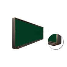 2015 Hot-Selling Magnético Shcool Verde Junta de tiza con marco de aluminio