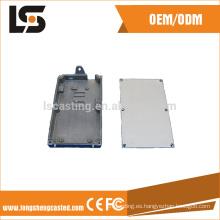 2017 de aluminio a presión piezas de fundición para la tapa de la máquina de China