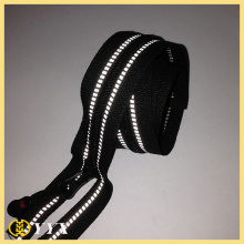 Reflective nylon zipper with good price