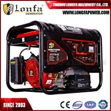 Generadores silenciosos de la gasolina del motor de 6.5HP Gx200 Honda en venta