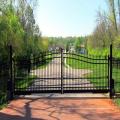 Оптовая лучшие продажи античный декоративный сад железные ворота дизайн