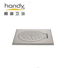 Drenaje de piso cuadrado de acero para baño y cocina