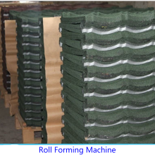 Stone Coated Roof Tile Roll Membentuk Mesin