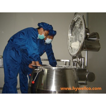 عالية الكفاءة GHL Super Mixing Granulator