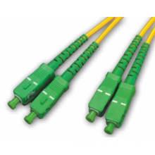 High Performance Sc LC St FC Connectors 10g Om3 50/125um Optic Fiber Patch Cord