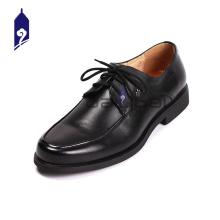 Marca homens de couro sapatos pu sola homens sapatos de vestido plat sapatos de couro genuíno